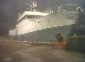 El Tchaw, barco dedicado a la pesca ilegal