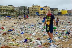 Limpieza playas Bombay